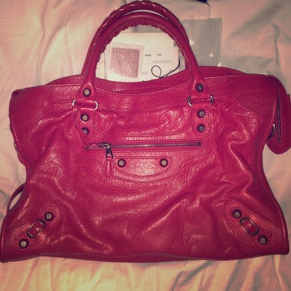 Balenciaga Handbags - Balenciaga Giant City Rose Thulian Rose Gold GH 781c4c3c2e093